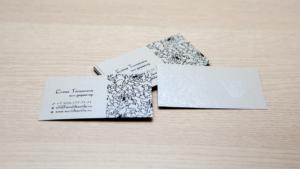 Шелкотрафаретная печать визиток в Нижнем Новгороде