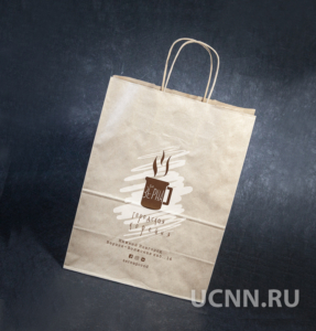 Шелкотрафаретная печать на крафт пакетах в Нижнем Новгороде