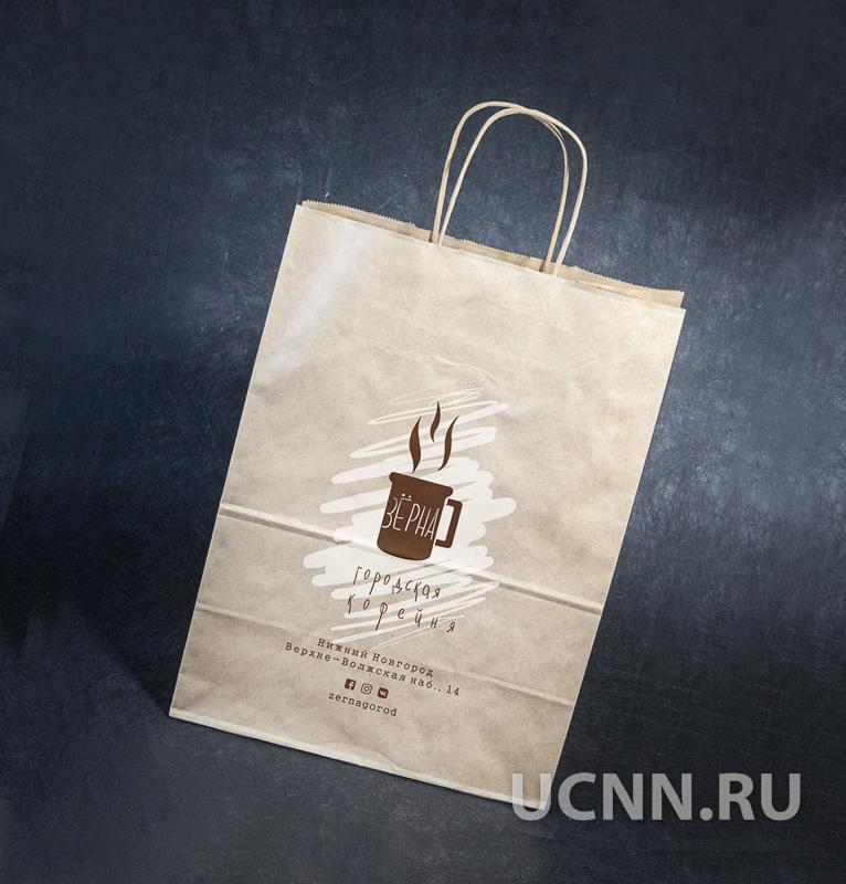 Печать на крафт пакетах в Нижнем Новгороде