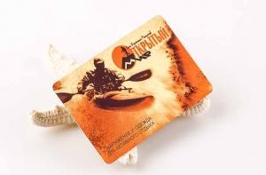 Бонусные пластиковые карты