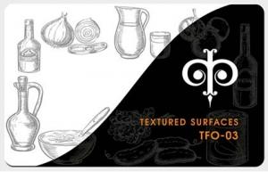 Фактуры для ресторанов, кафе, магазинов, пекарен, арт. TFO-03