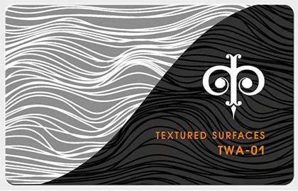 Фактуры из волнистых линий, арт. TWA-01