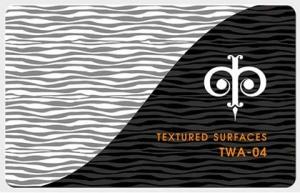 Фактуры из волнистых линий, арт. TWA-04