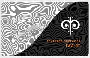 Фактуры из волнистых линий, арт. TWA-07